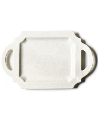 by Laura Johnson  Floral Bridesmaid  Handled Traditional Tray