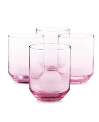Set of 4 Pink Tumblers, Created for Macy's