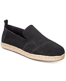 TOMS Women's Deconstructed Alpargata Slip-On Espadrille Flats