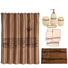 HiEnd Accents 21-Pc. Barbwire Bathroom Set