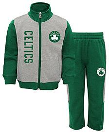 Outerstuff Boston Celtics On the Line Pant Set, Toddler Boys (2T-4T)