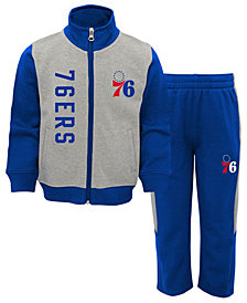 Outerstuff Philadelphia 76ers On the Line Pant Set, Toddler Boys (2T-4T)
