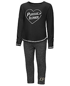 Colosseum Purdue Boilermakers Legging Set, Toddler Girls (2T-4T)