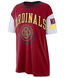 Nike Women's St. Louis Cardinals Retro Boycut T-Shirt