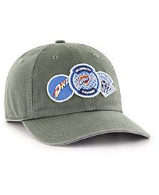 '47 Brand Oklahoma City Thunder Diamond Patch CLEAN UP MF Cap