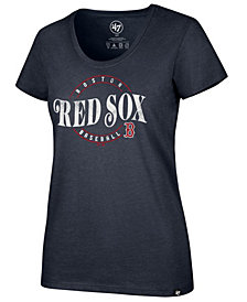 '47 Brand Women's Boston Red Sox Club Scoop Neck T-Shirt