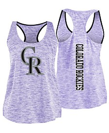 '47 Brand Women's Colorado Rockies Space Dye Tank