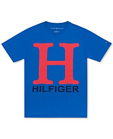 Tommy Hilfiger Little Boys Jason H Logo Cotton T-Shirt