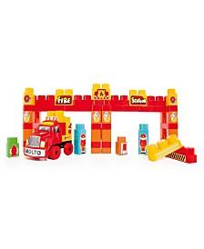 Molto - Truck Blocks, 125 Pieces