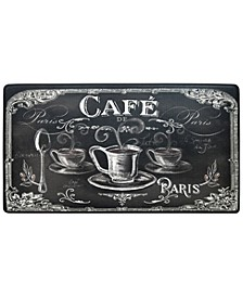 "Cook N Comfort ""Cafe"" Embossed Cushioned Anti-Fatigue Kitchen Mat"