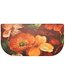 Home Dynamix Nicole Miller Cook N Comfort Cushioned Anti-Fatigue Kitchen Mat Floral Slice