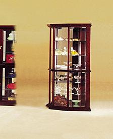 Huxley Corner Curio Cabinet