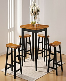 Gaucho 5-Piece Counter Height Set