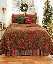 Gloria King 3 Piece Quilt Set