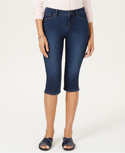 Charter Club Petite Atlantic Skimmer Jeans, Created for Macy's