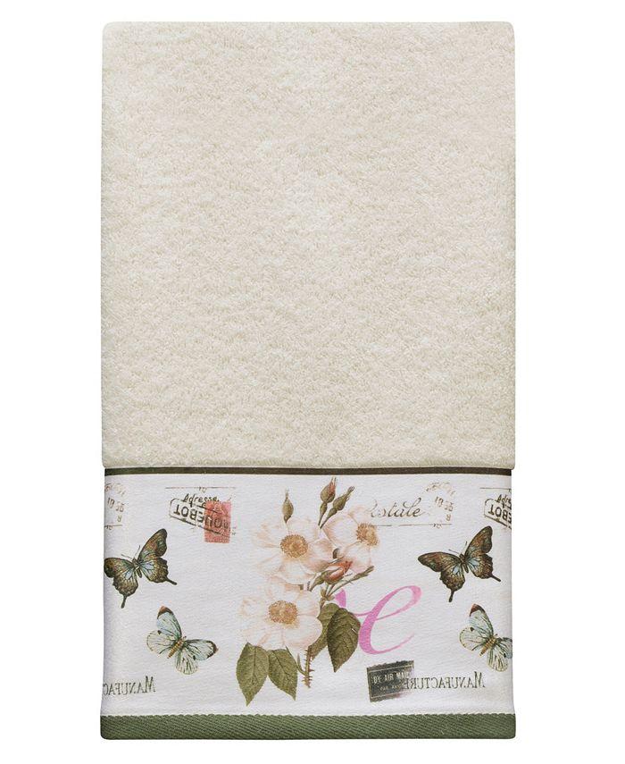 Creative Bath - Botanical Diary Cotton Border-Print Hand Towel