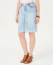 Style & Co Denim Skirt, Created for Macy's