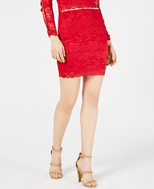 GUESS Navi Lace Mini Skirt