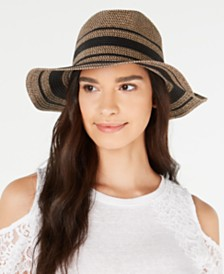 I.N.C. LUREX® Tweed Panama Hat, Created for Macy's