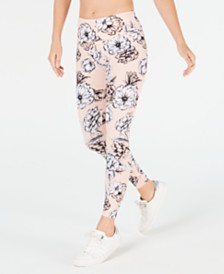 Calvin Klein Performance Printed High-Rise 7/8 Leggings