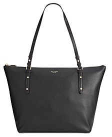 Polly Pebble Leather Tote