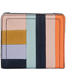 Fossil RFID Logan Patchwork Leather Bifold Wallet