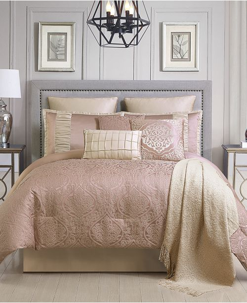 Hallmart Collectibles Wanelle 10-Pc. Comforter Sets, Created for Macy's