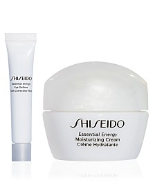 Receive a Free 2 pc skincare gift with $100 Shiseido purchase!