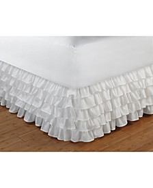 "Multi-Ruffle Bed Skirt 15"" Queen"