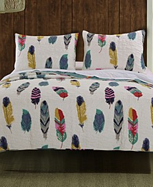 Dream Catcher Quilt Set, 3-Piece Full - Queen