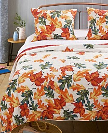 Falling Leaves Quilt Set, 3-Piece King