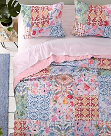 Joanna'S Garden Quilt Set, 3-Piece Full - Queen