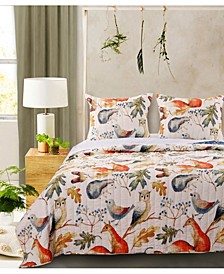 Willow Quilt Set, 3-Piece Full - Queen