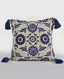 LR Home Royal Suzani Floral Throw Pillow