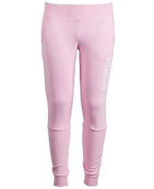 Puma Big Girls Logo Jogger Pants