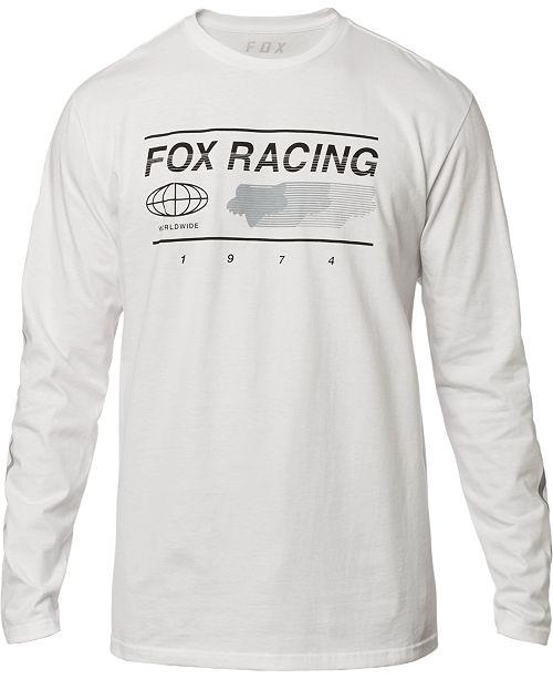 Fox Men's Racing Logo Graphic Shirt