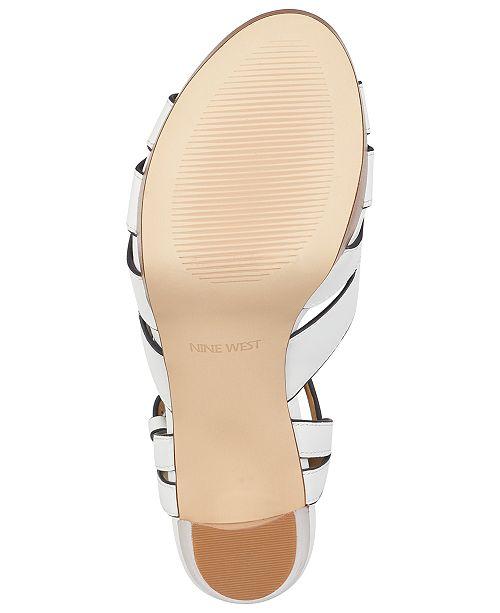 dd1508da51cc Nine West Delilah Platform Sandals & Reviews - Sandals & Flip Flops ...