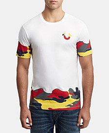 Men's Camo Frame Logo T-Shirt