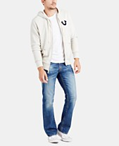 0aff2b88d3 True Religion Men s Classic Logo Zip-Up Hoodie