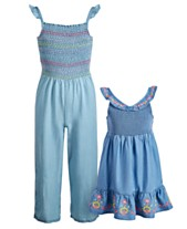 ccf0bc70b992 Epic Threads Sisters Smocked Embroidered Jumpsuit   Dress