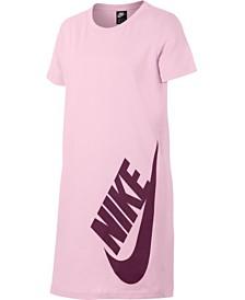 Nike Big Girls Sportswear Cotton T-Shirt Dress