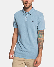 Quiksilver Men's Everyday Sun Cruise Modern-Fit Textured Polo
