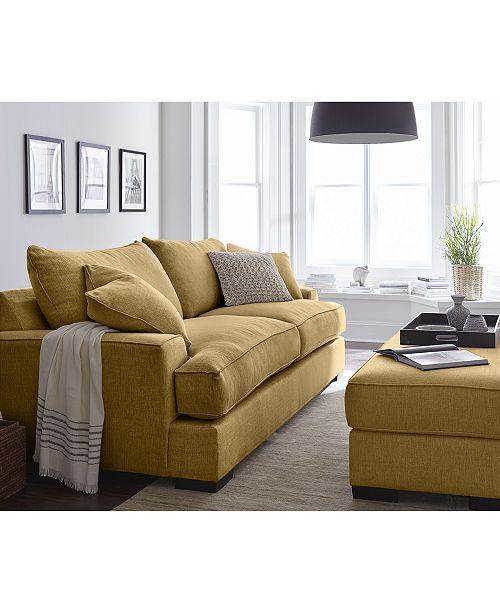 ... Furniture Ainsley Fabric Sofa Living Room Collection, Created for Macy's ...