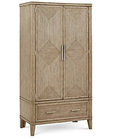 CLOSEOUT! Beckley Armoire, Created for Macy's