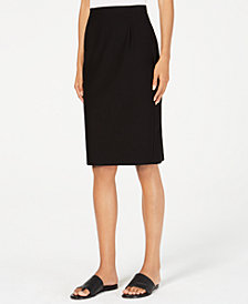 Eileen Fisher Knit Pencil Skirt, Regular & Petite