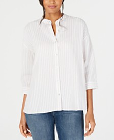 Eileen Fisher Organic Cotton Shirt, Regular & Petite
