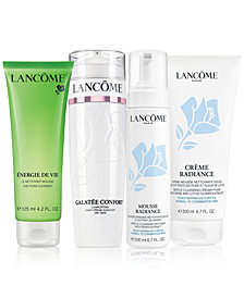 GET EVEN MORE! Choose Your Full-Size Skincare Cleanser with any $125 Lancôme purchase, worth up to a $37