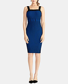 RACHEL Rachel Roy Lisa Ribbed Sweater Dress, Created for Macy's