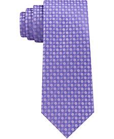 Men's Mini Bullseye Slim Silk Tie