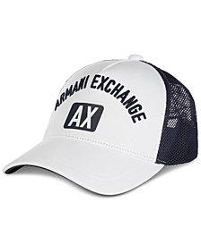 Armani Exchange Men's Logo Graphic Hat